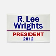 Cute 2012 presidential candidates Rectangle Magnet