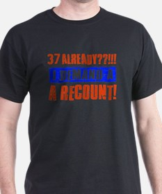 37th birthday design T-Shirt