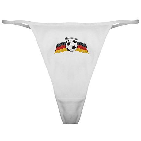 German Soccer / Germany Soccer Classic Thong