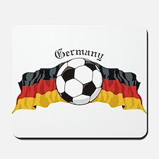 German Soccer / Germany Soccer Mousepad