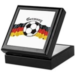 German Soccer / Germany Soccer Keepsake Box