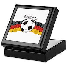 German Soccer / Germany Soccer Keepsake Box