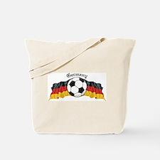 German Soccer / Germany Soccer Tote Bag