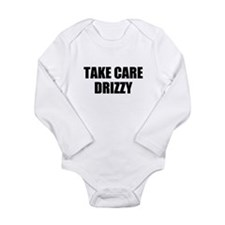 take care - drizzy Long Sleeve Infant Bodysuit