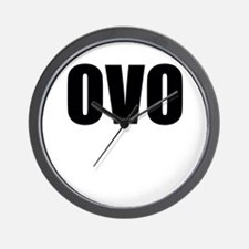 ovo Wall Clock