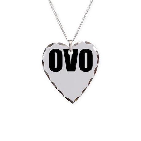 ovo necklace by textapparelshop