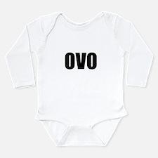 ovo Long Sleeve Infant Bodysuit