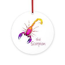 Fantasy scorpion Ornament (Round)