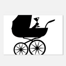 Baby Buggy Postcards (Package of 8)