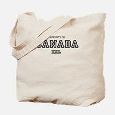 property of canada Tote Bag