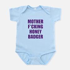 mother f***ing honey badger Infant Bodysuit