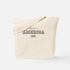 property of america Tote Bag
