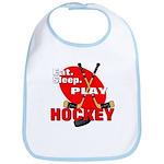Eat Sleep Play Hockey Bib