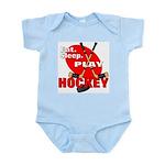 Eat Sleep Play Hockey Infant Creeper