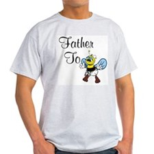 Father To Bee Ash Grey T-Shirt