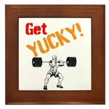 Get Yucky Framed Tile