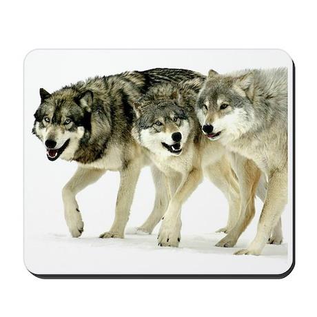 Wolf Trio Mousepad