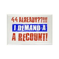 44th birthday design Rectangle Magnet (100 pack)