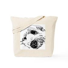 Sleepy Beardie Tote Bag
