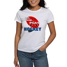 Eat Sleep Play Hockey Tee