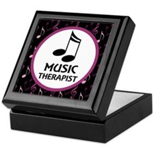 Music Therapist Gift Keepsake Box