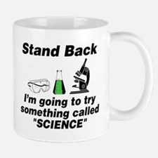 Stand Back It's Science Mug