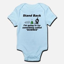 Stand Back It's Science Infant Bodysuit
