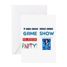 Cute Game show Greeting Card