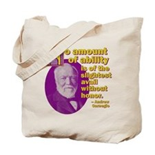 No Amount of Ability Tote Bag