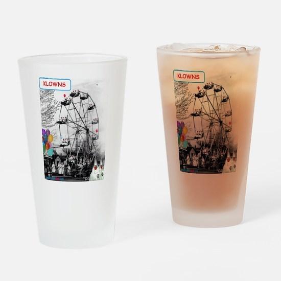 """""""Klu Klux Klan"""" Drinking Glass"""