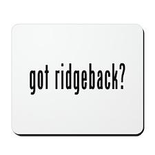 GOT RIDGEBACK Mousepad