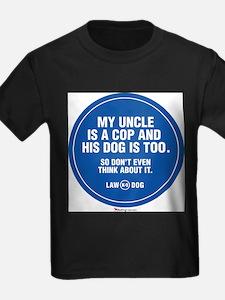 LAWBOYuncleisacop T-Shirt