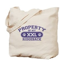 Ridgeback PROPERTY Tote Bag
