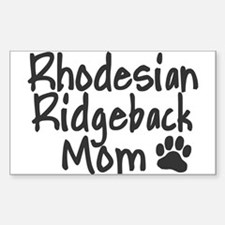 Ridgeback MOM Decal