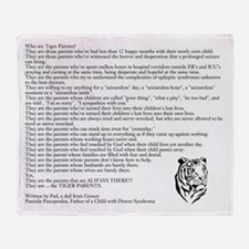 """""""Who are Tiger Parents?"""" Throw Blanket"""