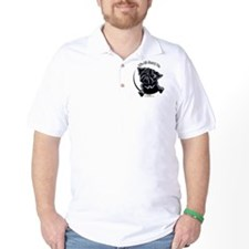 Black Pug IAAM T-Shirt