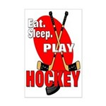 Eat Sleep Play Hockey Mini Poster Print
