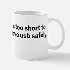 Remove USB Safely Mug