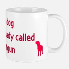 My dog already called shotgun Mug