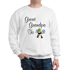 Great Grandpa To Bee Sweatshirt