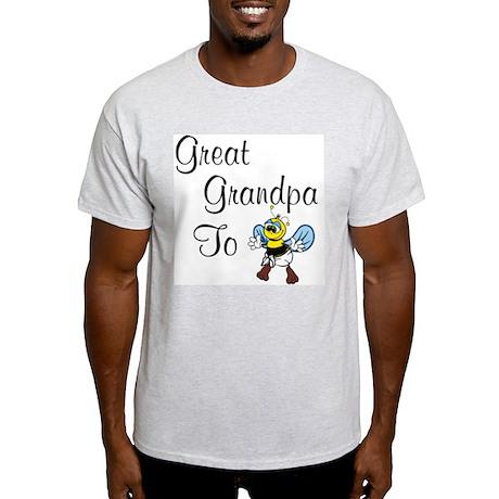 Great Grandpa To Bee Ash Grey T-Shirt