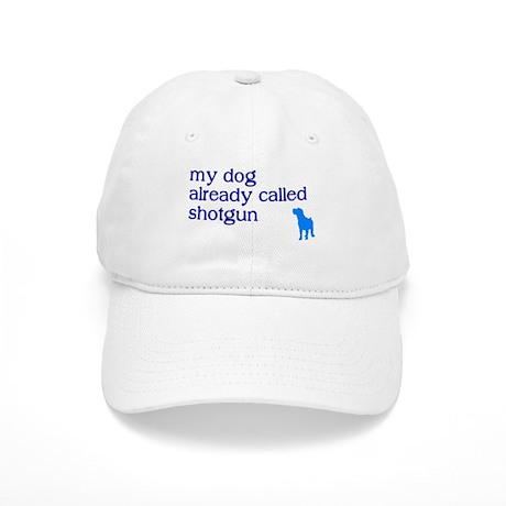 My dog already called shotgun Cap