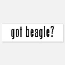 GOT BEAGLE Sticker (Bumper)