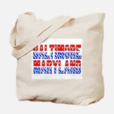 Baltimore (stars and stripes) Tote Bag