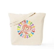 Uterine Cancer Unite in Awareness Tote Bag