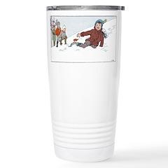 1930's Winter Fun#3 Travel Mug