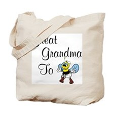 Great Grandma To Bee Tote Bag