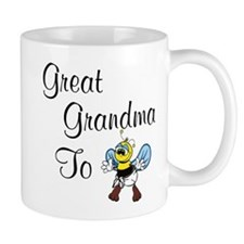Great Grandma To Bee Mug