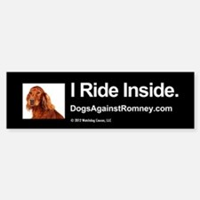 Bumper Sticker (Irish Setter)