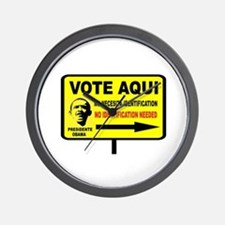 EVERYBODY VOTES Wall Clock
